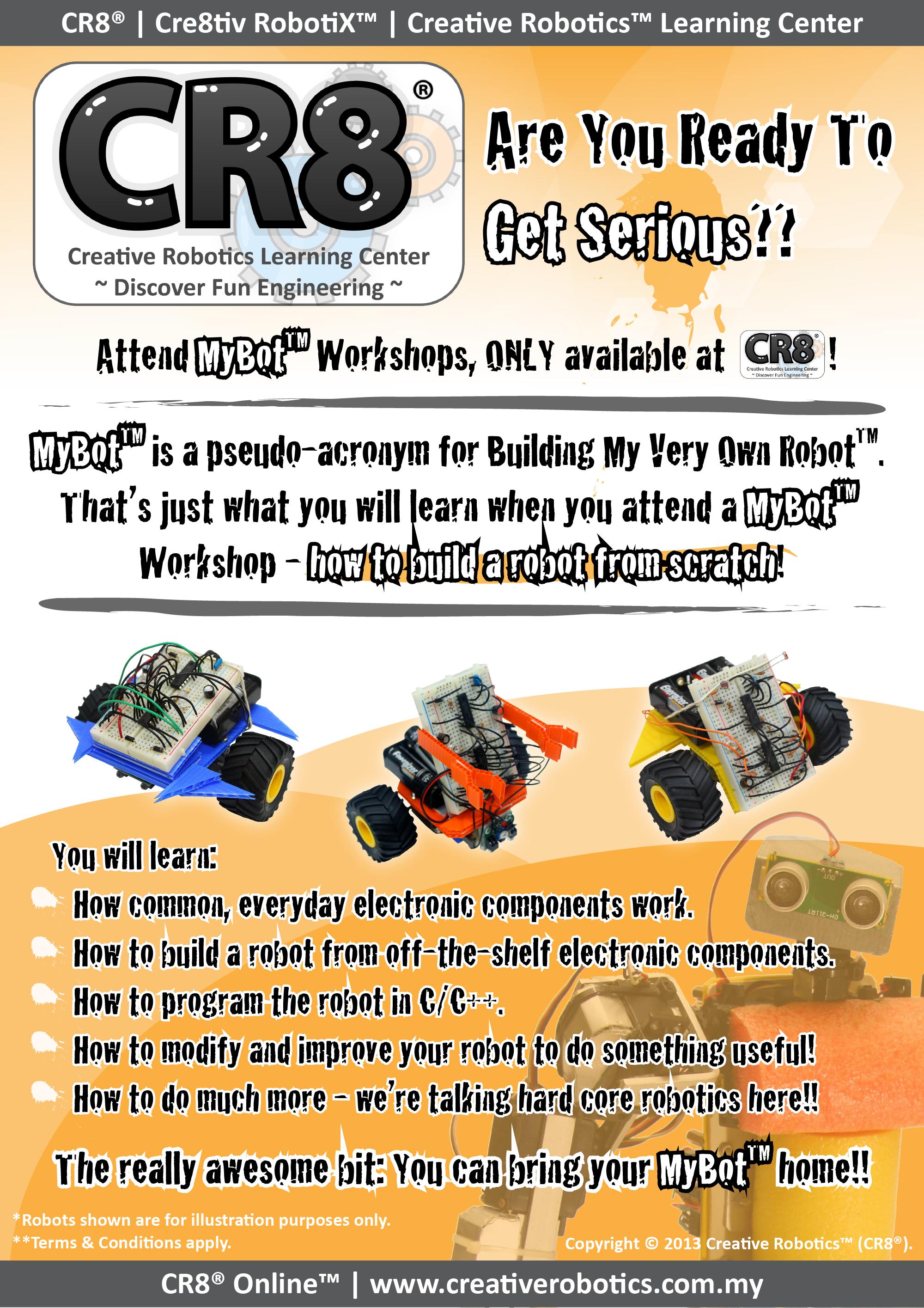 Cr8 Online Mybot Workshop